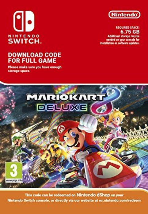Mario Kart 8 Deluxe Nintendo Switch Digital Download - £36.99 @ CDKeys