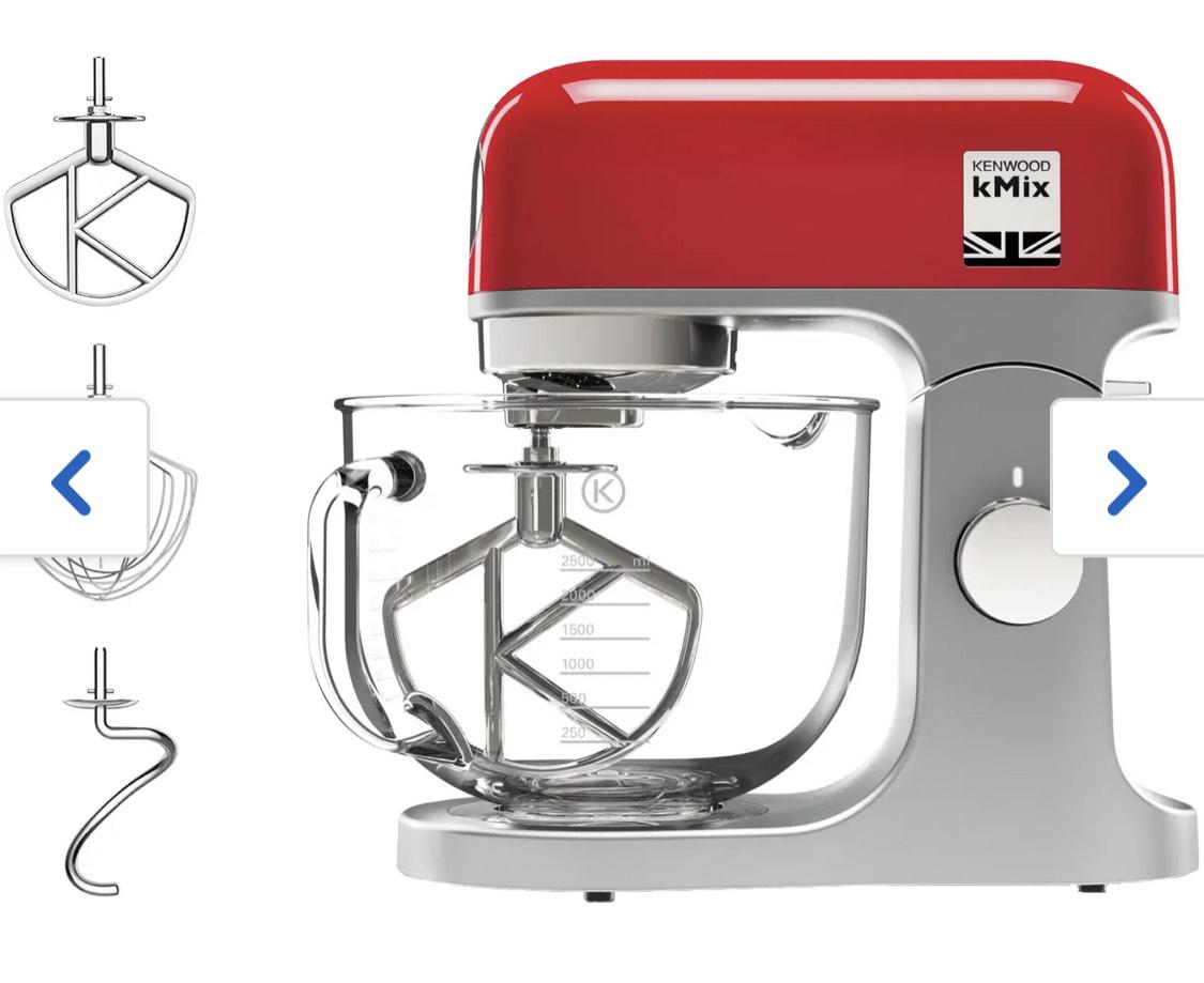 Kenwood KMIX KMX754RD Stand Mixer - Red - £249 @ AO