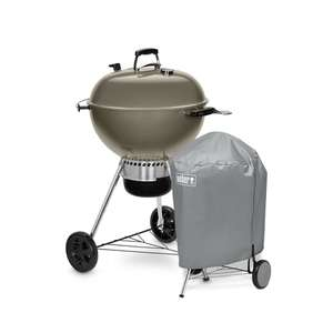 Weber Master Touch GBS C-5755 57cm with All-Weather Cover Bundle £210 via Riverside Garden Centre