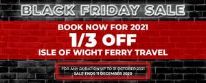 Red Funnel Ferries 1/3 off for Bookings till 31/10