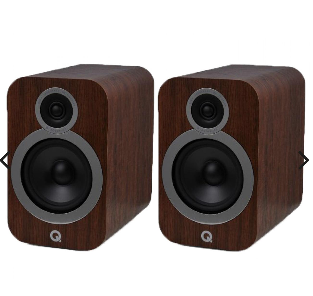 Q Acoustics 3030i Bookshelf Speakers - 5 year warranty £289.90 Peter Tyson Audio Visual