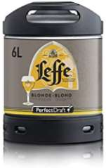 PerfectDraft Leffe Blonde (Blonde Ale) 1 x 6 litre Keg for Philips Machine, 6 Litre - £33.81 @ Amazon