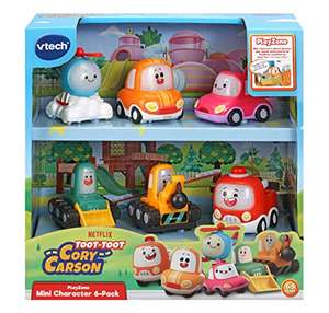 VTech Toot-Toot Drivers Cory Carson Mini Vehicle Pack, Mini Car Sets for Boys and Girls only £11.99 (+£4.49 Non Prime) @ Amazon