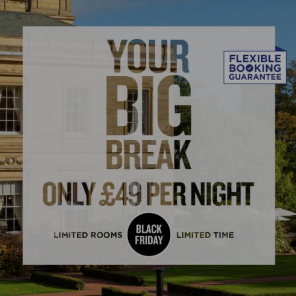 Q Hotels - £49pn B&B Black Friday Deal