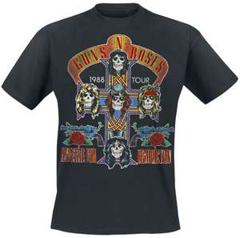 Guns N' Roses 1988 Appetite for Destruction Tour T-Shirt £14.99 @ EMP