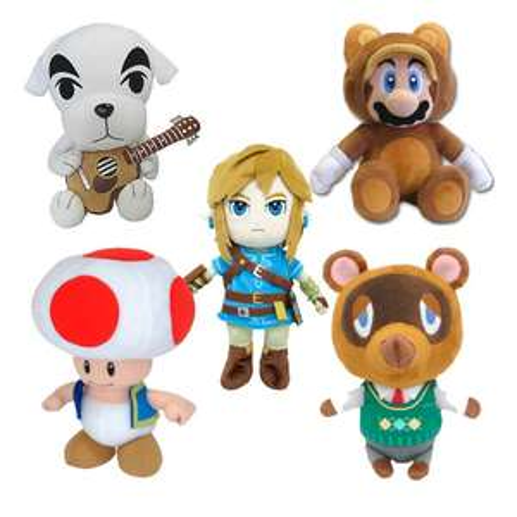 30% off Nintendo Plushies and Free Delivery (e.g. Tom Nook £13.99 - Mario / Zelda / Donkey Kong) using code @ Zavvi