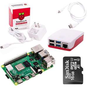 Raspberry Pi 4 Model B 4Gb Starter Kit @ thepihut - £66.73 + £2.99 Delivery