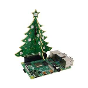 Xmas Tree for Raspberry Pi £11.99 delivered @ thepihut