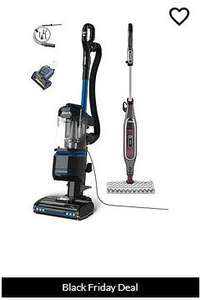 Shark Upright Vacuum Cleaner NV602UK and S6003UK Steam Mop Bundle + Car Kit and Pet tool - £249.99 @ Very