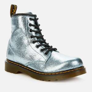 Dr. Martens Kids' Metallic Lace-Up Boots £42 @ The Hut