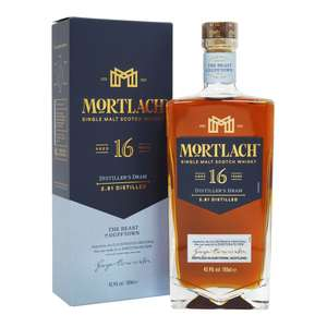 Mortlach 16 Year Old - Distiller's Dram (£64.90 + £4.95 Delivery) @ The Whisky World