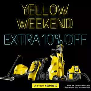 Karcher Extra 10% Off on all Home and Garden