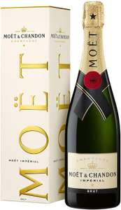 Moët Champagne in presentation box £23.49 with code @ Amazon