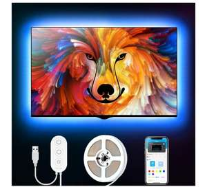 Govee TV LED Backlight with App Control, RGB LED Strip Light £8.79 (+£4.49 Non Prime) Sold by Govee UK and Fulfilled by Amazon