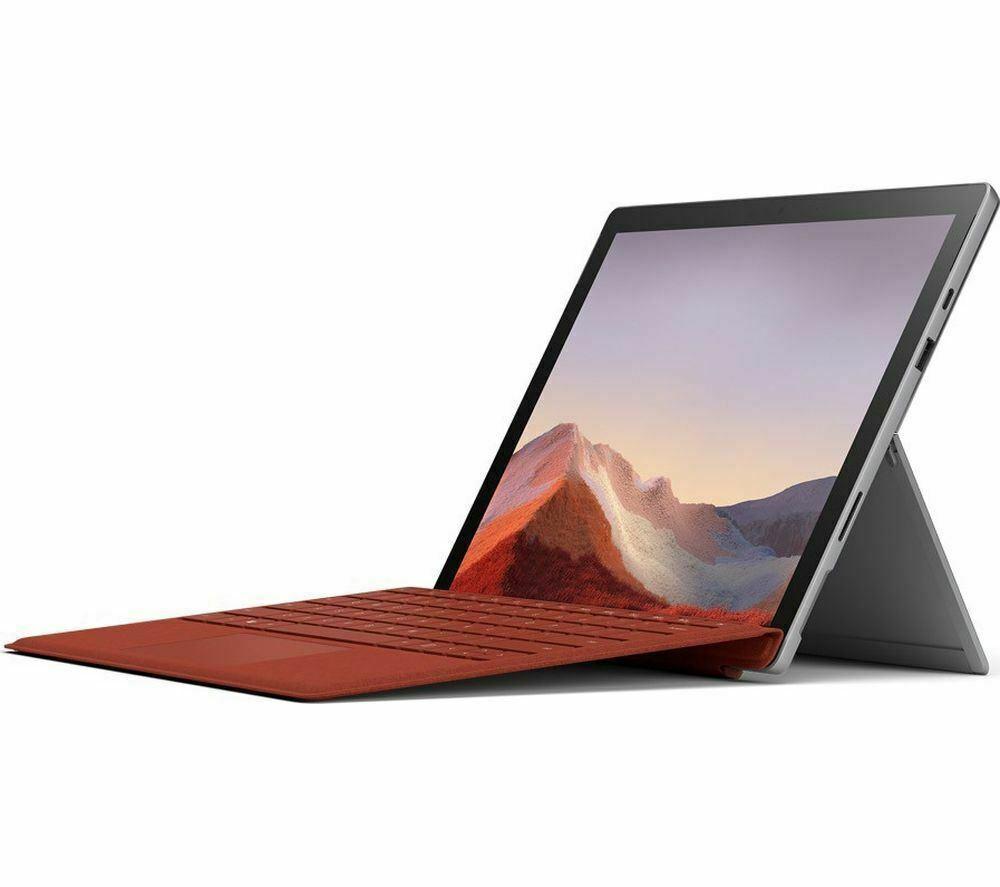 "Microsoft Surface Pro 7 Tablet, Intel i5, 8GB RAM, 256GB SSD, 12.3"" - £629.30 @ ebay / currys_clearance"
