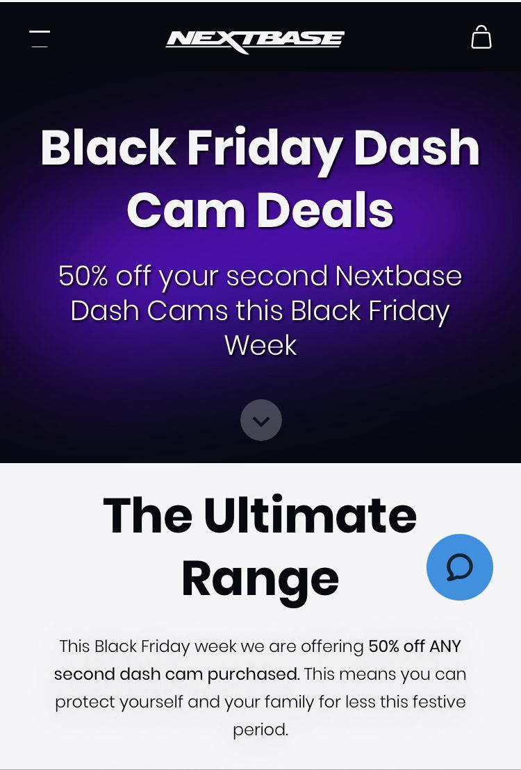 Buy one dash-cam get one 50% @ Nextbase