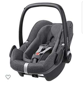 Maxi-Cosi Pebble Plus Baby Car Seat Group 0+, ISOFIX Car Seat, i-Size, 0-12 m, 0-13 kg, 45-75 cm, Sparkling Grey £129.95 @ Amazon