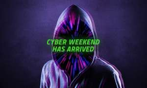 Cyber Weekend has arrived. Score up to 50% off at Razer