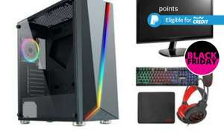 Gaming PC Bundle Set - £239 @ Wowcher
