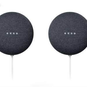 2 x Nest Mini 2nd Gen £34.20 (£17.10 each) / Nest Audio £62.10 / Nest Hub Max £152.10 with code (free collection) @ John Lewis & Partners
