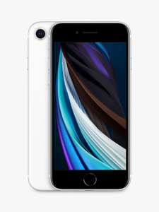 """Apple iPhone SE, iOS 13, 4.7"""", 4G LTE, SIM Free, 256GB, White Smartphone - £449 Delivered @ John Lewis & Partners"""
