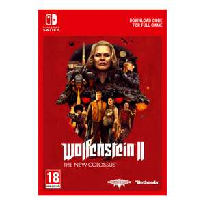 Wolfenstein II: The New Colossus - Digital Download £24.99 @ Nintendo Official UK Store