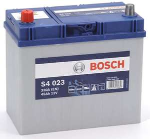 Bosch S4 Car Battery - £57.96 delivered @ amazon