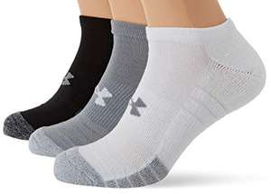 Under Armour Unisex UA Heatgear NS 3 Pack from £4 (Prime) + £4.49 (non Prime) at Amazon