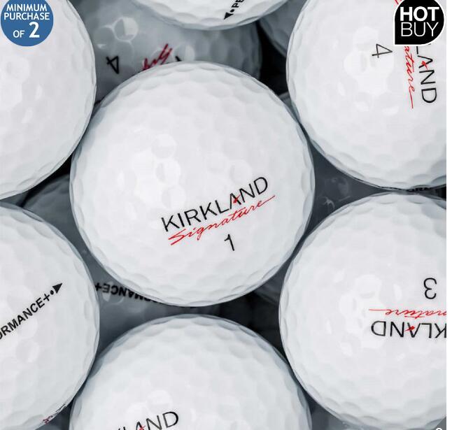 Kirkland Signature 3-Piece Urethane Cover Golf Balls - 24 Pack - £23.89 @ Costco