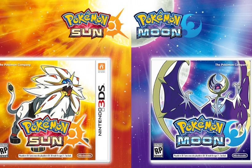 Pokémon Sun and Moon (and Ultra Sun/Moon) - Nintendo 3DS £14.99 (+£4.49 Non Prime) @ Amazon