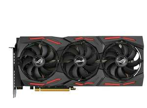 ASUS ROG Strix Radeon RX 5700 XT OC Edition 8 GB GDDR6 Gaming Graphics Card Including a Reinforced Frame £344.55 at Amazon