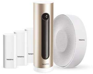 30% off Netatmo smart home products (e.g. NBU-ICSS-EU Smart alarm system with camera, siren, and three sensors for £223.99 delivered) @ Box