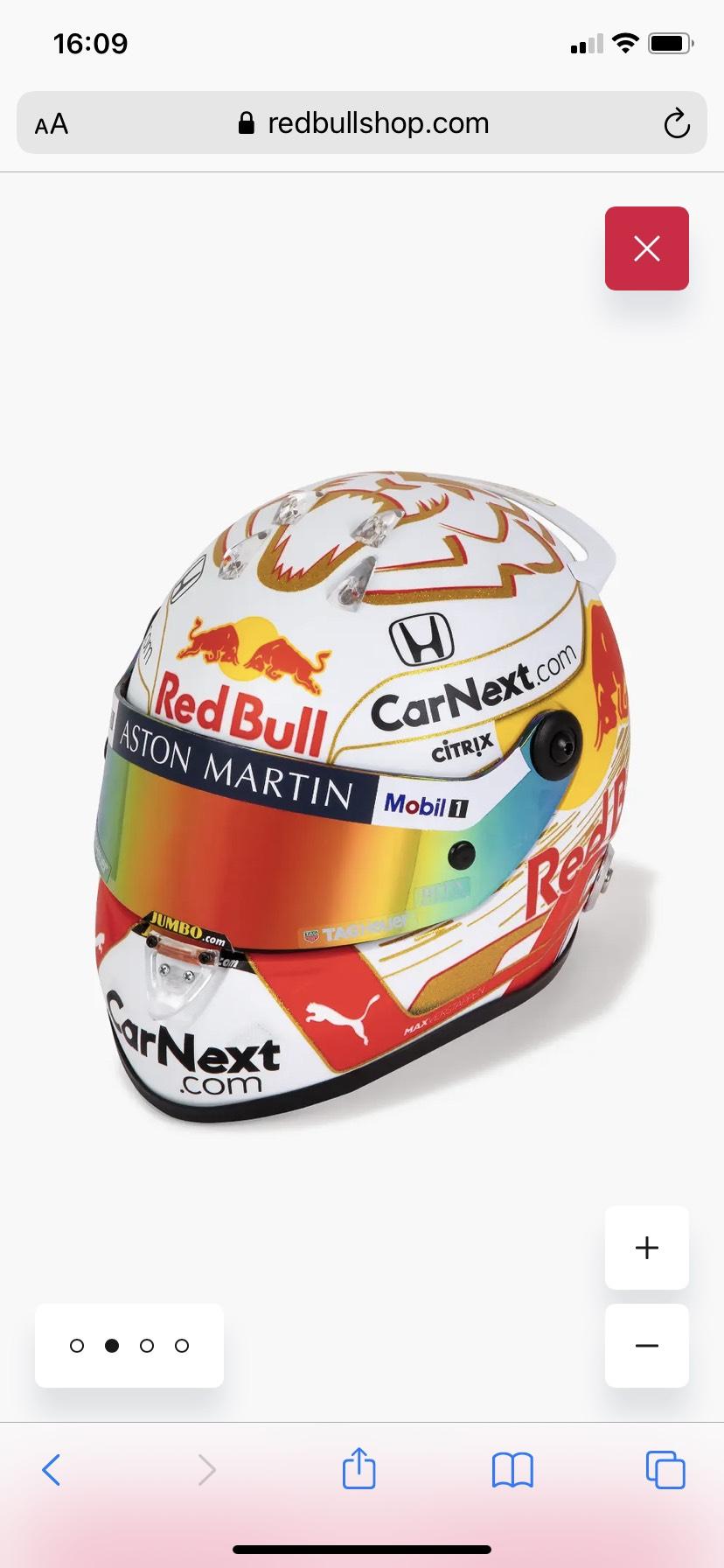 Max Verstappen 2020 1:2 Mini Helmet £93.95 @ Red Bull
