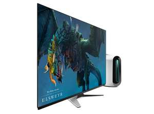 """Alienware 55 OLED Gaming Monitor: AW5520QF-The world's first 55"""" OLED gaming monitor 4K resolution.Possible 9% Topcashback£1669.31 @ Dell"""