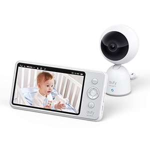 "eufy Security Video Baby Monitor, 720p Resolution, Large 5"" Display, All-Day Battery, 2-Way Audio, Night Vision £87.99 @ Amazon"