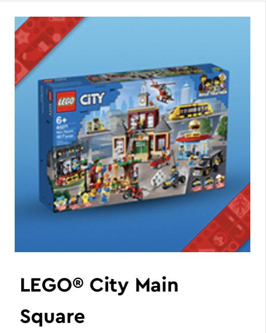 Lego City Main Square 20000 VIP points
