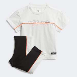 adidas Leggings and T-Shirt Set (0-12mnths available) £20.20 delivered, using code via app @ adidas