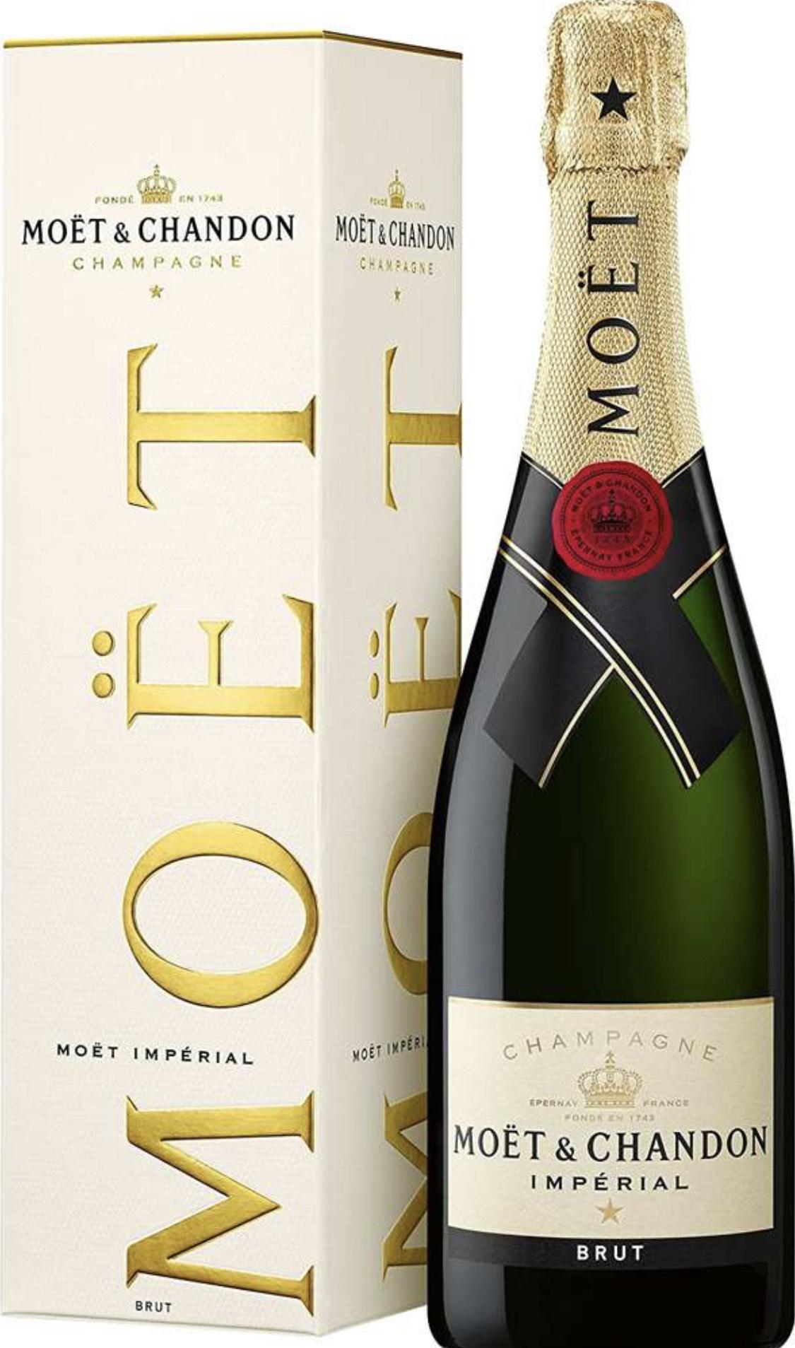 Moët & Chandon Impérial Brut Non Vintage Champagne 75cl £29 (plus 25% off 6 bottles) @ Sainsbury's
