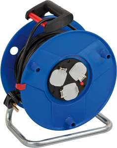 Brennenstuhl Garant 3-Way Socket Outlet Cable Reel (50 m Cable) £38.99 at Amazon