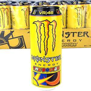 Monster Energy Dr Rossi flavour 500ml x 24 cans for £20 at Yankee Bundles