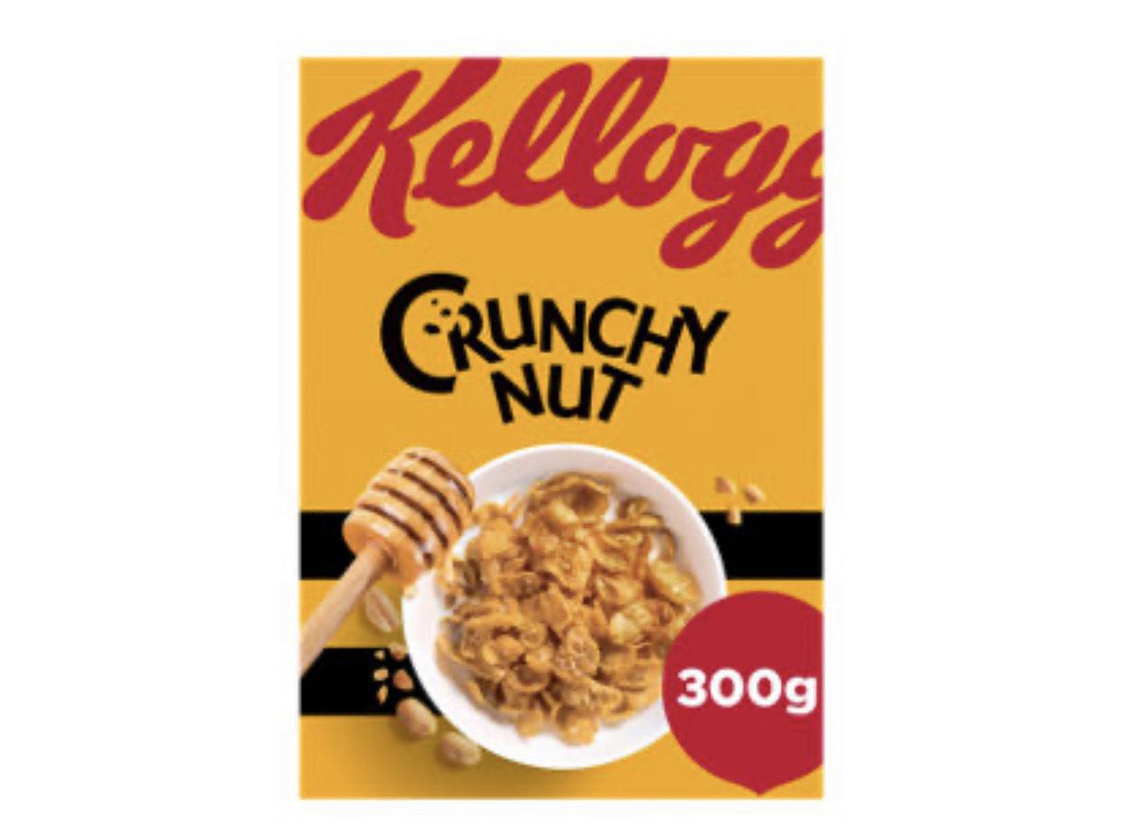 Kellogg's Crunchy Nut Original Cereal 300g for £1.50 @ Asda