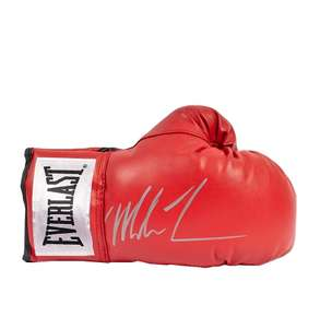 Mike Tyson Signed Red Everlast Boxing Glove - Signed Silver Authenticated - £183.99 @ A1 Sporting Memorabilia