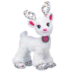 Snow Magical Glisten Reindeer Now £12.90 for Cybear Monday - Free click and collect selected stores or £3.99 delivery @ Build A Bear