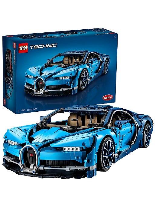 LEGO Technic Bugatti Chiron 42083 £199.97 at Asda (Possibly £189.97 when using 5% cashback)