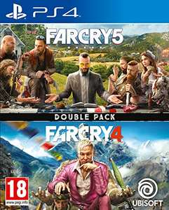 Far Cry 4 + Far Cry 5 (PS4) - £17.49 / (+£2.99 Non Prime) delivered @ Amazon