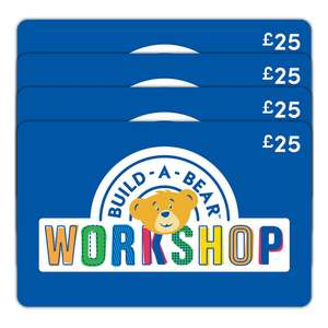 £100 Build-A-Bear Gift E-Card Multipack for £63.99 @ Costco