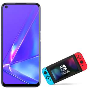 EE - OPPO A72 128GB with free Nintendo Switch . £29pm 24 month contract £30 handset cost