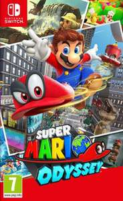 Super Mario Odyssey (Nintendo Switch) £35 @ Amazon