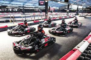 50 Lap Indoor Karting Race, 30 locations, for TWO (£18.13/person) £36.26 (using code) @ BuyAGift
