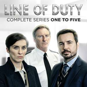 Line of Duty - Complete Series 1-5 HD £21.99 at iTunes